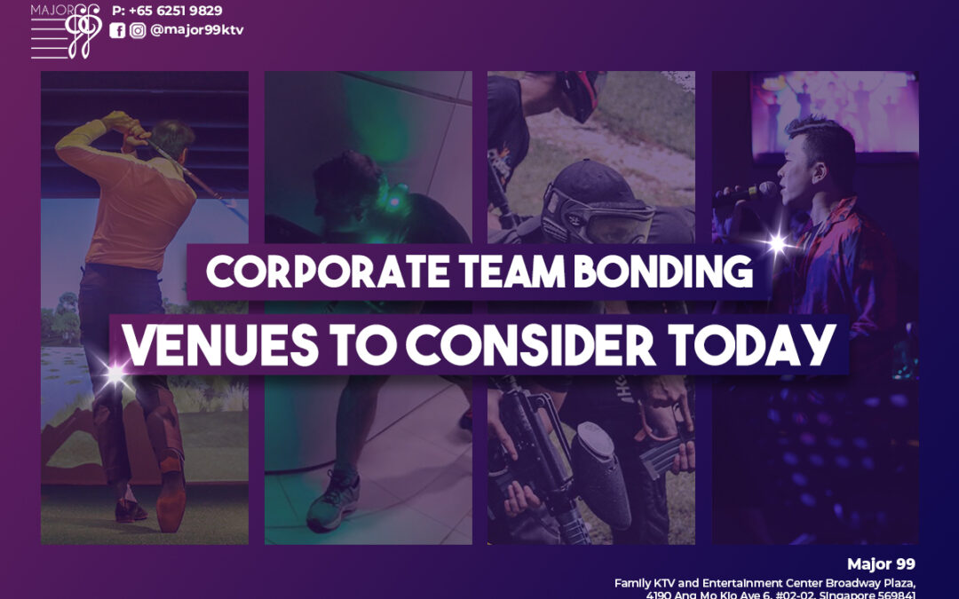 Corporate Team Bonding Venues To Consider Today